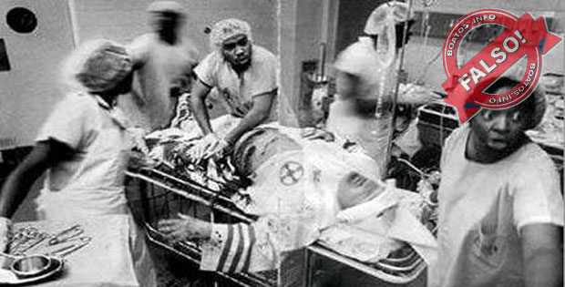 Médicos negros salvam membro da Klu Klux Klan: Falso
