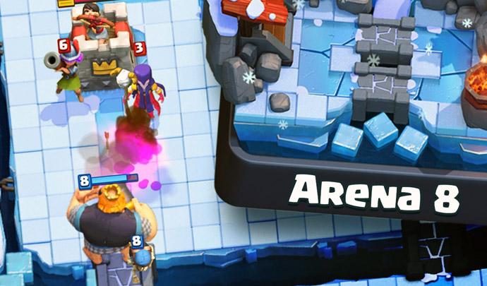 ▶️ Deck de Gigante Real para alcançar arena 8 - 1