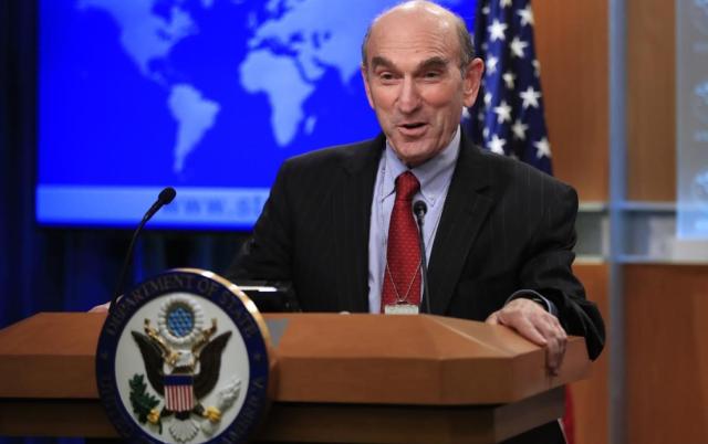 """Elliott Abrams aseguró que en los próximos días vendrán sanciones más """"significativas"""