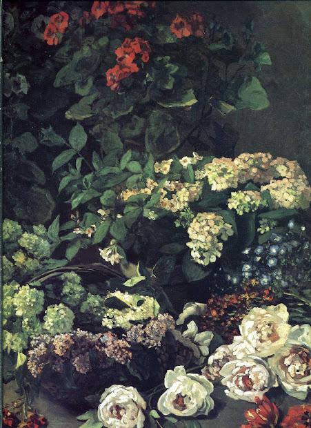 Spring Flowers Claude Monet Paintings