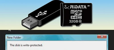 Cara Mengatasi Flashdisk Write Protected