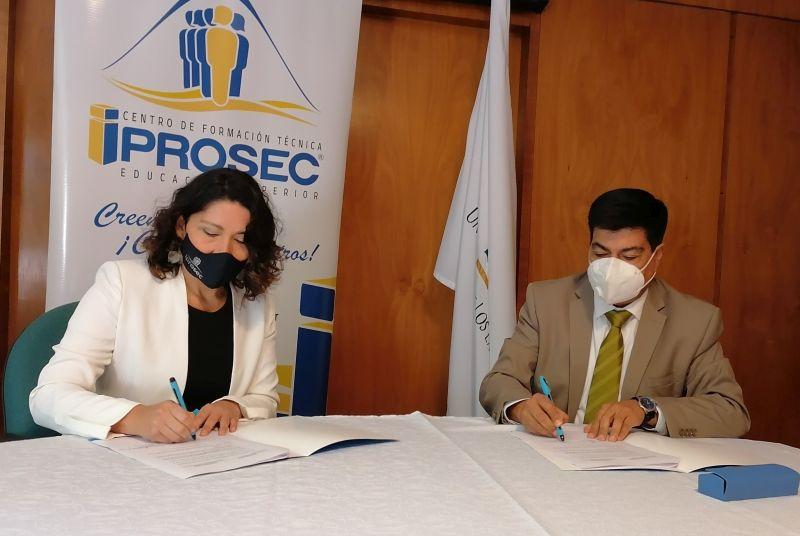 Convenio ULagos y CFT Iprosec