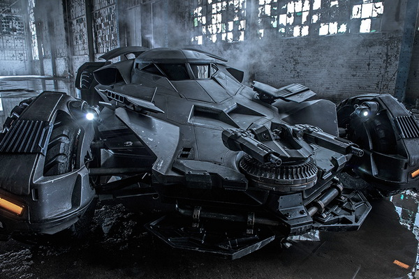Militarized Batmobile