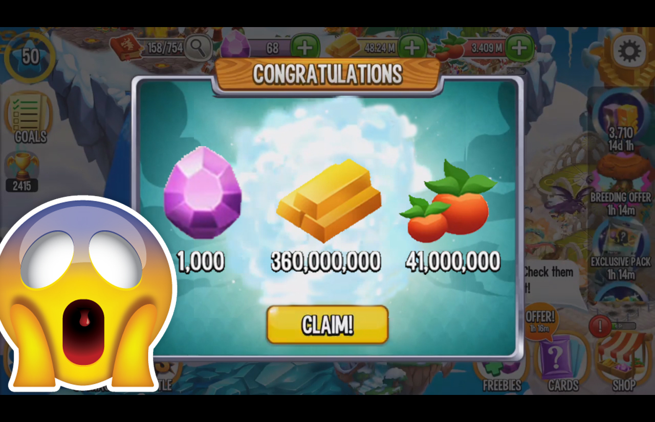 dragon city free gems no hack
