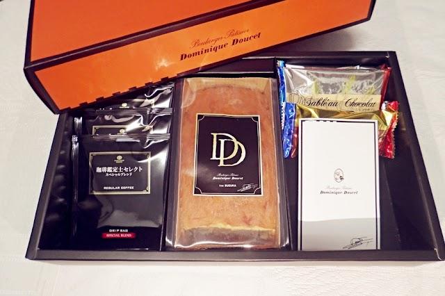 美食 ░ 鈴鹿很受歡迎的Dominique Doucet特別禮盒裝,ドミニクドゥーセ的店鋪Sweets Variety禮品☕
