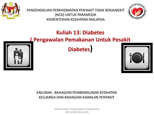 diet pesakit diabetis