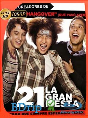 21 la gran fiesta (2013) 1080p BDRip Dual Audio Latino-Inglés [GoogleDrive] DizonHD