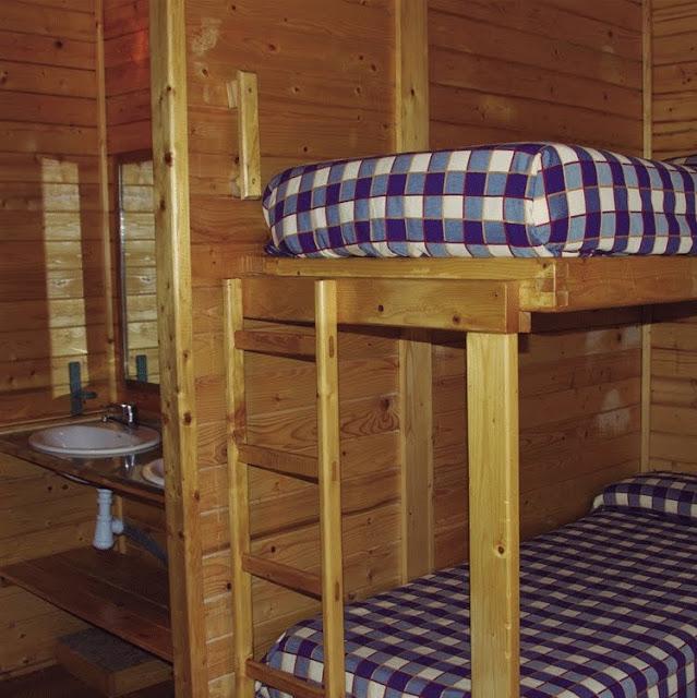 Habitaciones campamento de Cazorla