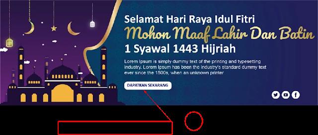 Download Banner Idul Fitri Adobe Illustrator Gratis