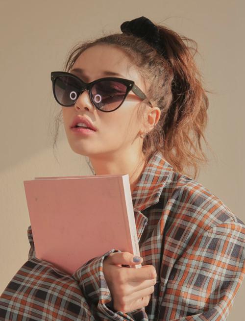 Tinted Cat Eye Sunglasses