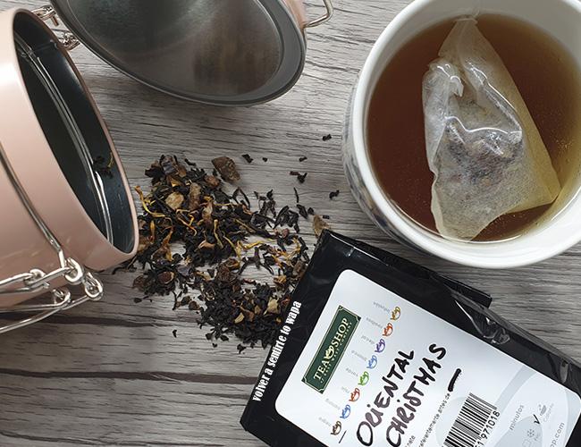 Tés e infusiones de Navidad de Tea Shop - Té negro Oriental Christmas