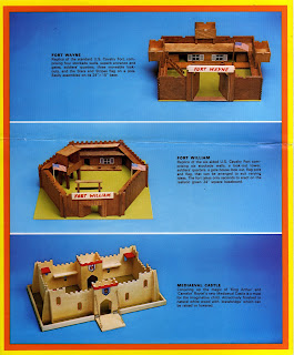 1977 Catalogue; Castle Keep; Castle Play Set; Castle Toy; Catalogue Images; Fort Play Set; Fort Wayne; Fort William; Medieval Castle; Medieval Play Set; Model Forts; Raytel Quality Toys; Ref. 3341; Ref. 3341 Fort Wayne; Ref. 3342 Fort William; Ref. 3344 Mediaeval Castle; Reytel (Pershore) Limited; Reytel Toys; Small Scale World; smallscaleworld.blogspot.com; Toy Castles; Toy Forts; Wooden Castle; Wooden Forts; Wooden Toy;