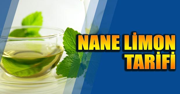 Nane Limon nasıl yapılır Sıcak Soğuk limonata tarifi burada