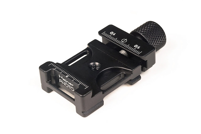 "New Hejnar PHOTO F61-2b 1.5"" QR Clamp top front view"