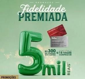 Promoção Zaffari Card 2019 Fidelidade Premiada
