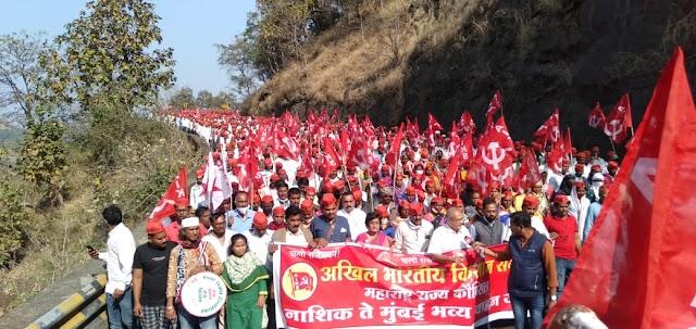 कृषिबील विरोधात महाराष्ट्रातही लाखो शेतकरी एकवटले, राजभवनला घेराव