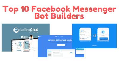 Top 10 Facebook Messenger Bot Builders