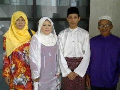 Ulang Tahun Perkahwinan Ke-7, blogger Noor Azlan