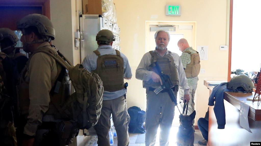 Seguidores de la milicia chií en Irak asaltaron la embajada de EE.UU. en Bagdad, el 31 de diciembre de 2019 / REUTERS