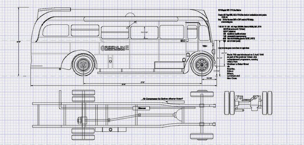 Aec Regal 10t10 Model Bus Construction Construction Part 1