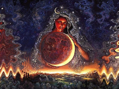 The Moon, second most powerful source of magic