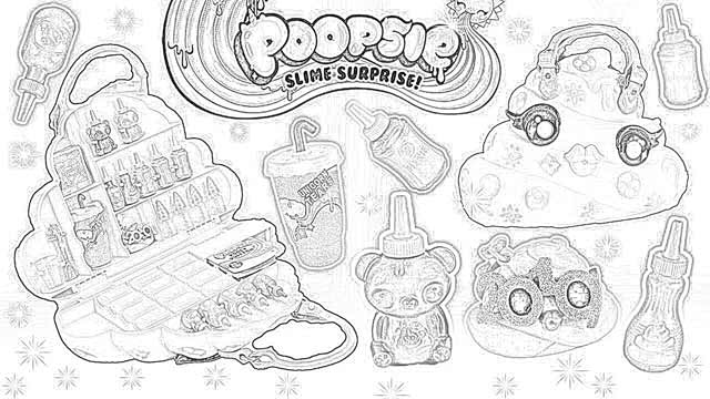 Coloring Pages Poopsie Slime Surprise Unicorn Coloring Pages Free