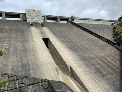 至近の四万川ダム