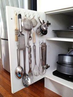 454fa835b5de6cb0cf025d14ff86b56d - Ideias para organizar sua cozinha