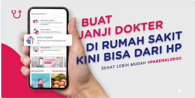 Aplikasi Halodoc Konsultasi Dokter Terpercaya dan Terlengkap Di Indonesia