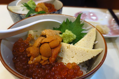 Keria Japanese Restaurant, ikura uni don