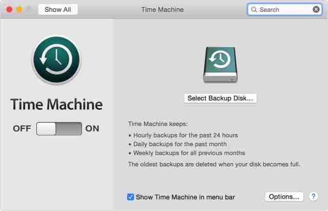 Cara Backup Data MacBook Dengan Time Machine