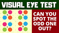 In this puzzle video, you challenge is to spot the odd one out in given puzzle images.