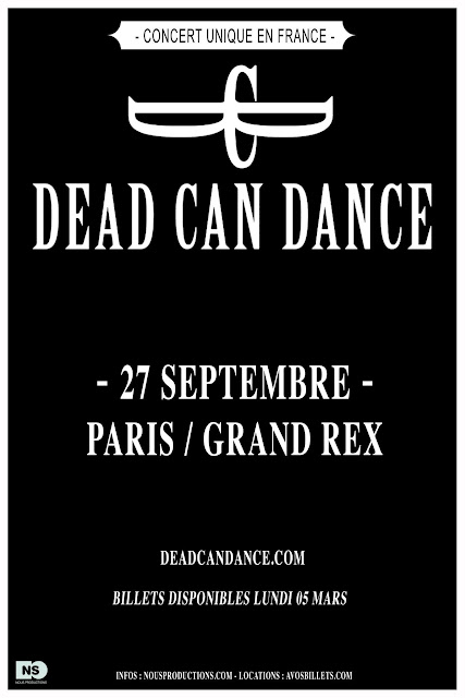 Dead Can Dance @Grand Rex, Paris 27/09/2012