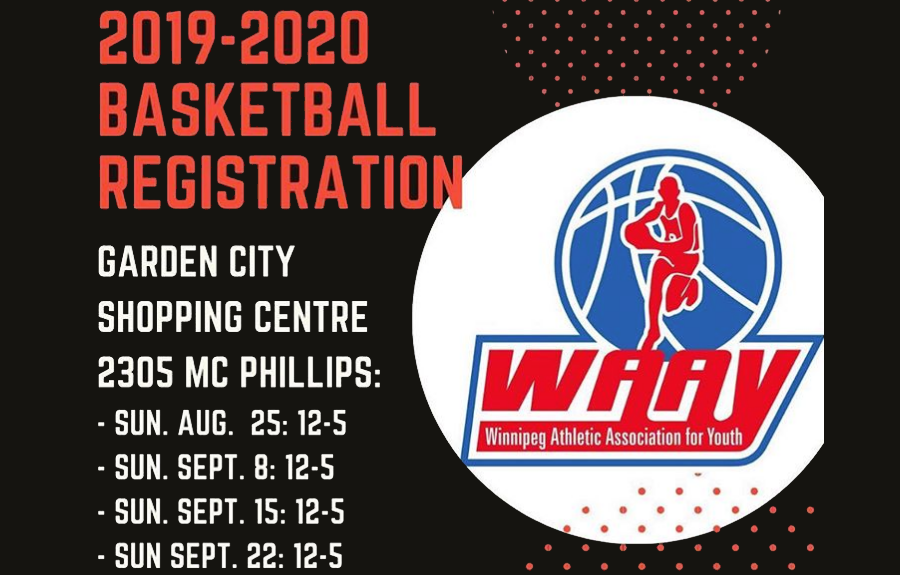 REMINDER: WAAY Basketball Accepting Registration for Players