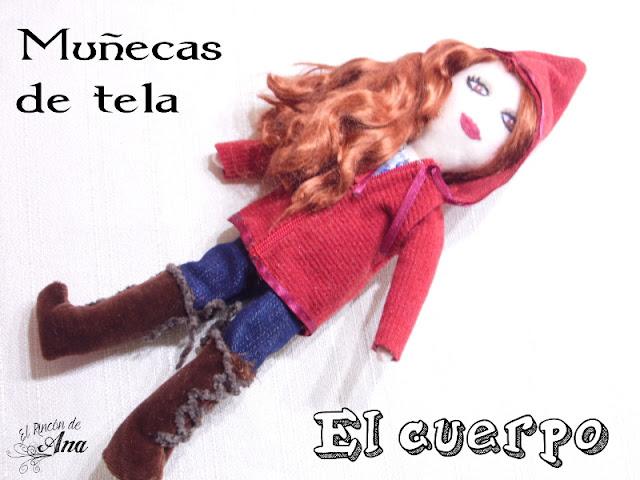 Muñecos de tela: El cuerpo
