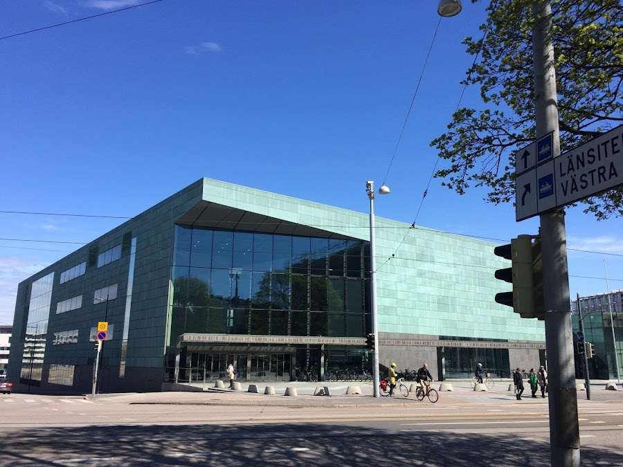 ヘルシンキ音楽センター(Helsingin Musiikkitalo)