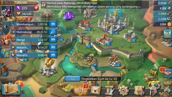 Game Android Terbaik - Lords Mobile