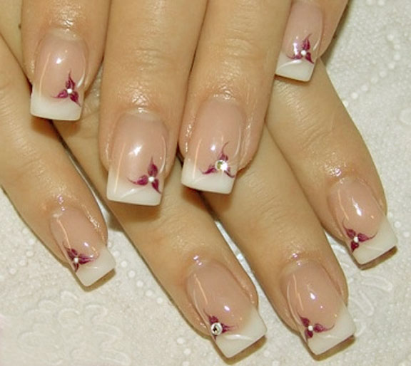 Latest French Nails Designs Pictures - fashion world