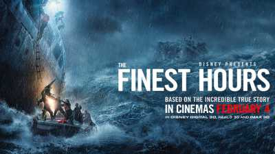 The Finest Hours 2016 Dual Audio Hindi - English 300mb BluRay