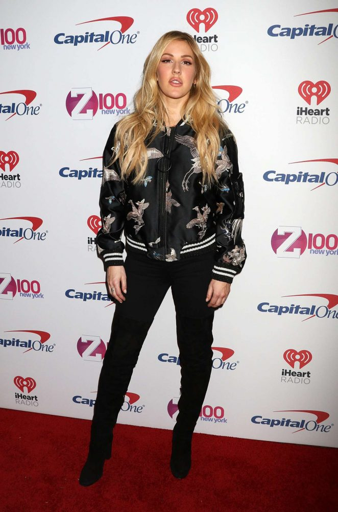 Ellie Goulding – Z100's iHeartRadio Jingle Ball 2016 in New York