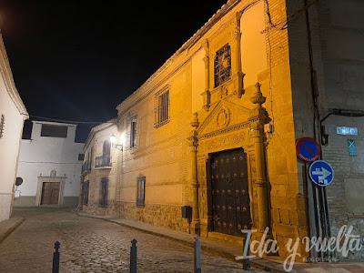 Visitar Almagro calles de noche