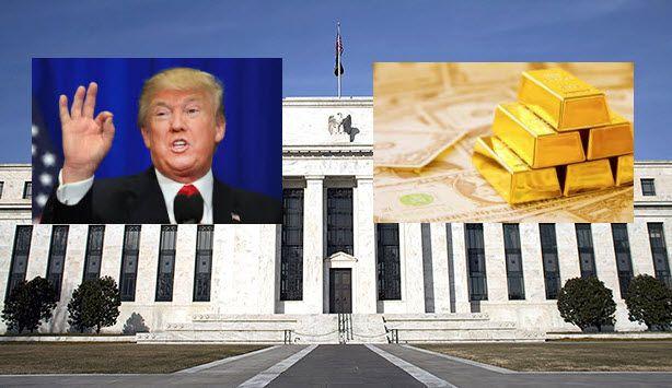 Precio del oro baja Donald Trump