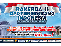 Rakerda II DPD PI Sulsel Bakal Digelar di Auditorium Saokotae Kota Palopo