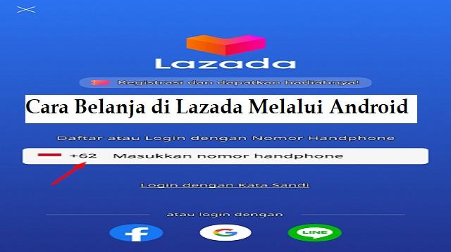 Cara Belanja di Lazada