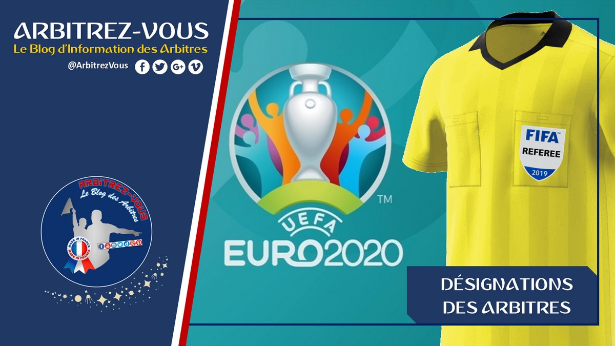 Uefa Qualifications Euro 2020 Designations Arbitres