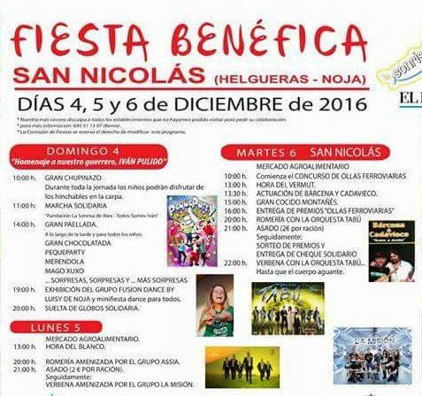 Fiesta benéfica de San Nicolás 2016 en Noja