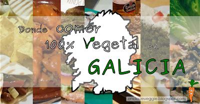 Donde comer vegano en Galicia