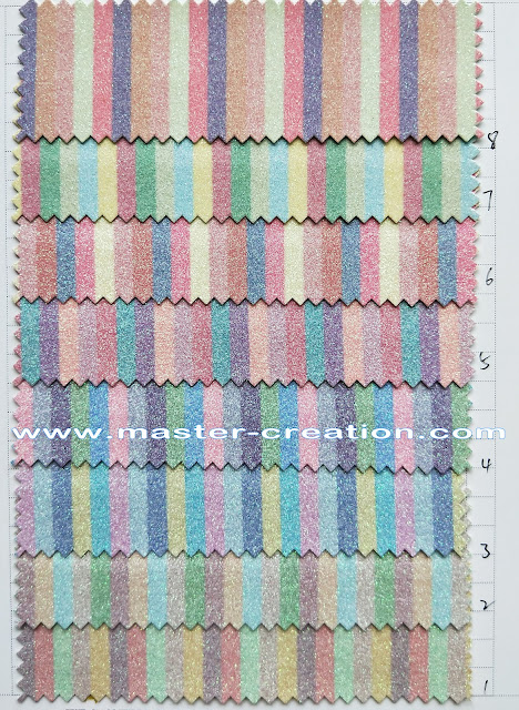 glossy striped patterns fabric