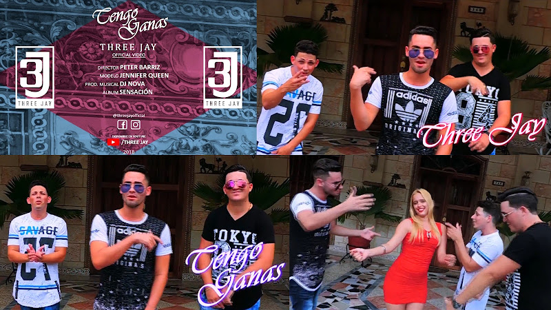 Three Jay - ¨Tengo ganas¨ - Videoclip - Director: Peter Barriz. Portal Del Vídeo Clip Cubano