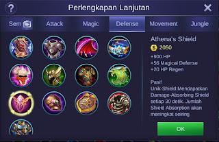 Athena's Shield Mobile Legends